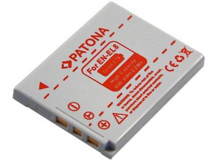 Patona PT1039 - Nikon EN-EL8 600mAh Li-Ion