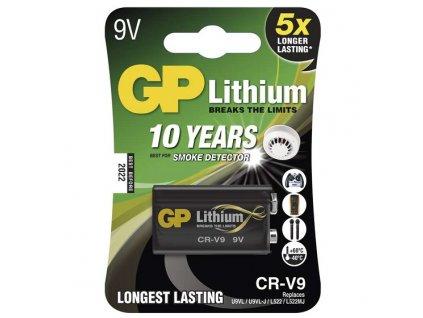 Baterie GP lithiová CR-V9, 1 ks v blistru