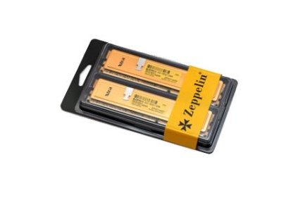 EVOLVEO Zeppelin, 8GB 1600MHz DDR3 CL11, GOLD, box (2x4GB KIT)