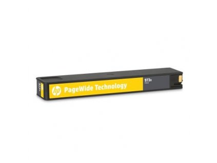 HP 973X Žlutá (F6T83AE) - originální