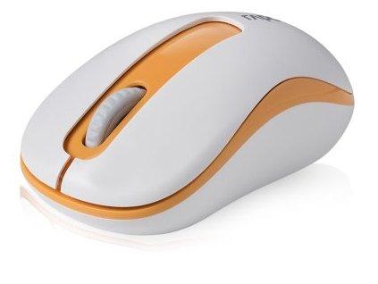 Rapoo M10 oranžovo-bílá