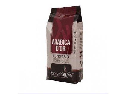 SpecialCoffee Arabica DOro  100% 1 Kg zrnková káva