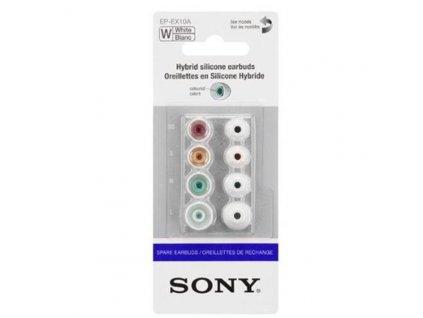 Sony náhradní silikonové koncovky do sluchátek, bílé