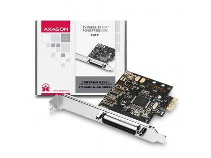 AXAGON PCEA-P1 PCIe 1x paralel
