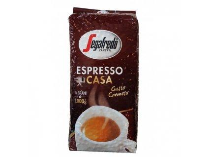 Segafredo Espresso casa 1 Kg zrnková káva