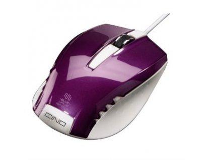 HAMA Optická myš Cino, purpurová (53866)