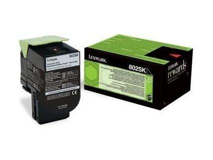 Lexmark 80C2SK0 černý 2500 stran