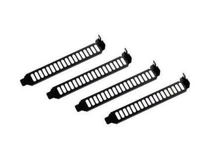 SilverStone Aeroslots záslepky PCI slot 4ks, černá