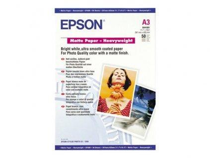 Epson Paper A3 Matte Heavyweight (50 listů)