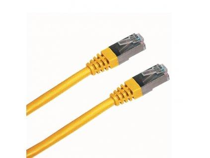 DATACOM PATCH KABEL FTP CAT5E 1m žlutý stíněný