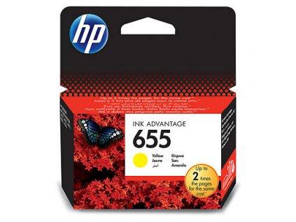HP 655 Yellow CZ112AE
