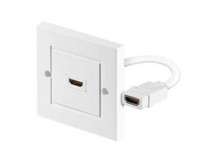 HDMI zásuvka v panelu 1x HDMI A - HDMI A Female/Female