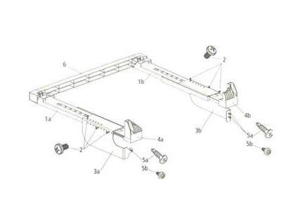 Beko Mezikus plastový s nastavitelnou hloubkou pro pračky Superia (WMY, WTV, WTE)