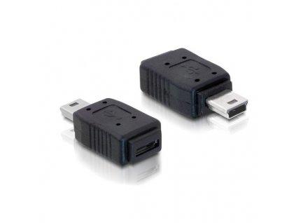 Delock redukce USB mini samec na USB micro B samice (65155 )