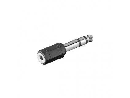 PremiumCord Adaptér stereo jack 6.3 - stereo jack