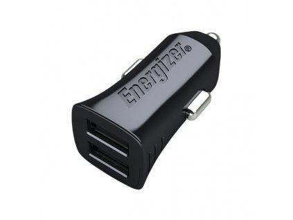 Energizer nabíječka do auta HighTech, 2 USB 2.4A, černá