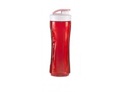 DOMO láhev k smoothie makeru 600ml, červená