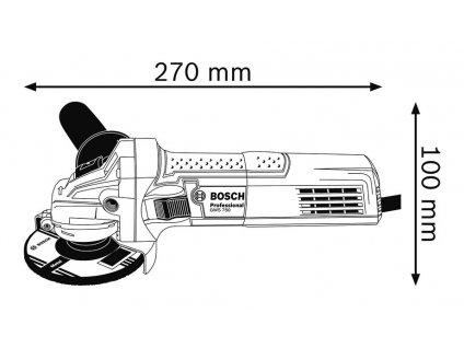 Bosch GWS 750-125 Professional Úhlová bruska