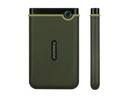 Transcend StoreJet 25M3G Slim 1TB, zelený