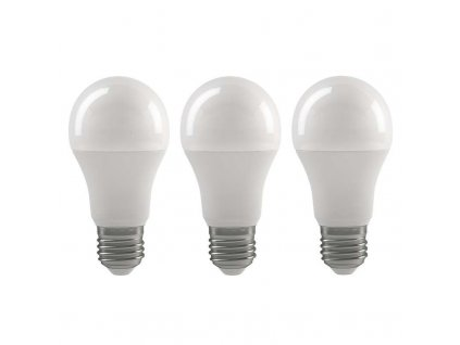LED žárovka Classic A60 9W E27 teplá bílá - 3Ks v balení
