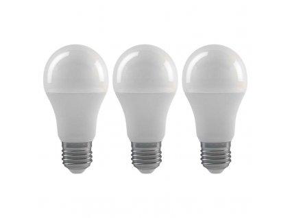 LED žárovka Classic A60 9W E27 neutrální bílá  - 3Ks v balení