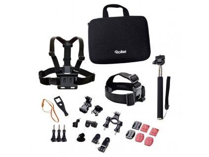 Rollei sada příslušenství pro outdoor pro kamery Rollei a GoPro