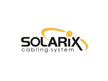 SOLARIX spojka panelová, CAT5E, UTP, 8p8c, RJ45/RJ45