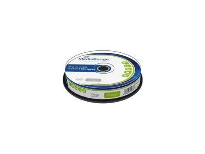 DVD-R MediaRange 4,7GB  16x SPINDL (10pack)