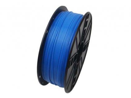 Gembird filament ABS 1.75mm 1kg, fluorescentní modrá