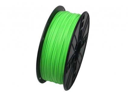 Gembird filament ABS 1.75mm 1kg, fluorescentní zelená