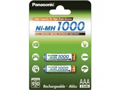 Panasonic eneloop HR03 AAA 4HGAE/2BE