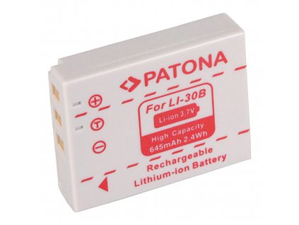 Patona PT1030 - Olympus Li-30b 645mAh Li-Ion
