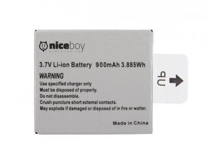 Niceboy náhradní baterie pro kamery VEGA, VEGA+ a VEGA 5 fun