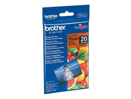 Brother BP71GP20 fotopapír 10x15cm lesklý, 20 listů, 260g