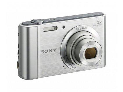 Sony DSC-W800, stříbrný