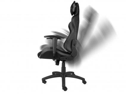 Herní židle GENESIS NITRO 440 černo-šedé