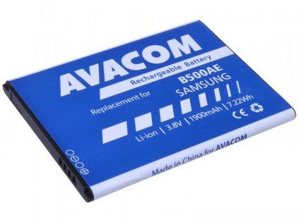 Baterie do mobilu Samsung Galaxy S4 mini, Li-Ion 3,8V 1900mAh, (náhrada EB-B500BE)