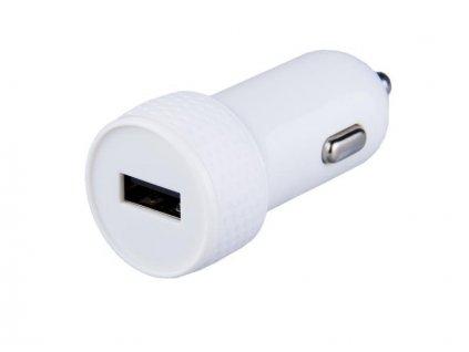 AVACOM nabíječka do auta s výstupem USB 5V/1A, bílá