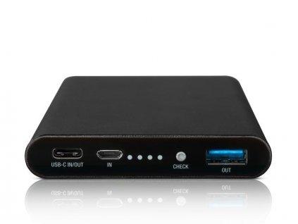 AVACOM externí baterie PRISMA AL-10, Li-Pol 10000mAh, USB-C, QC vstup a výstup, černá