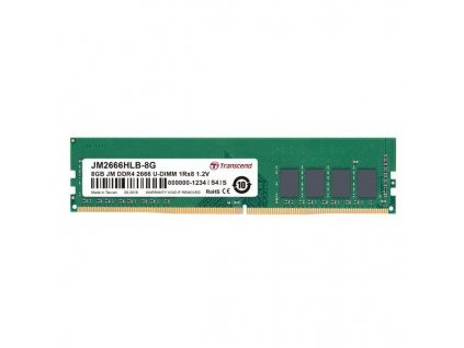 Transcend JetRam 8GB DDR4 2666MHz CL19