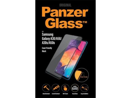 PanzerGlass Edge-to-Edge pro Samsung Galaxy A30/A50/A30s/A50s černé