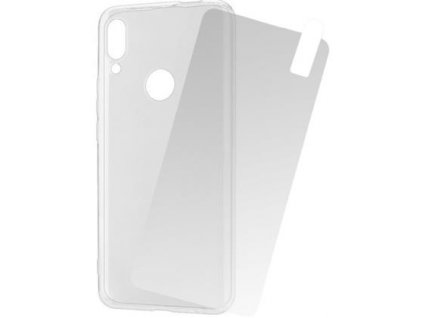 Set silikonové pouzdro + tvrzené sklo pro Huawei P Smart Z