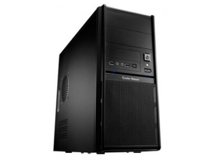 Coolermaster minitower Elite 342, mATX,black,USB3 0, bez zdroje Inpraise computers