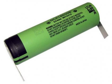 AVACOM Nabíjecí průmyslová baterie 18650 Panasonic 3400mAh 3,7V Li-Ion - vývody do U