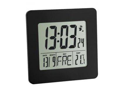 TFA Rádiem řízený digitální budík s teploměrem 60.2525.01