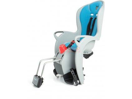 dětská sedačka HAMAX SLEEPY s neuzamykatelným zámkem - šedá/světle modrá