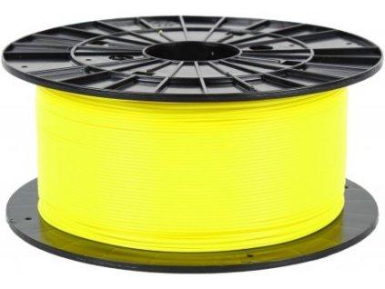 Filament PM 1.75 PLA 1kg, fluorescenční žlutá