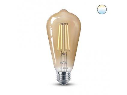 WiZ Wifi chytrá žárovka filament ST64 E27 WZE21016411-A