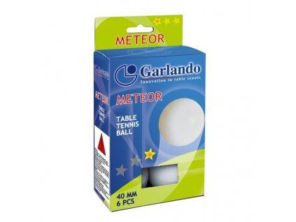 Garlando Míčky Meteor na stolní tenis, hvězdiček: 1, balení 6 kusů