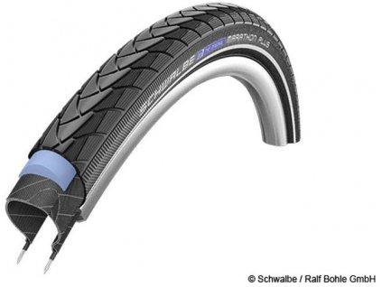 Schwalbe plášť Marathon Plus 32-622 SmartGuard černá+reflexní pruh